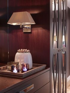 Marsala, Oslo, Joinery, Dressing Room, Sweet Home, Wall Lights, Interior Design, Lighting, House