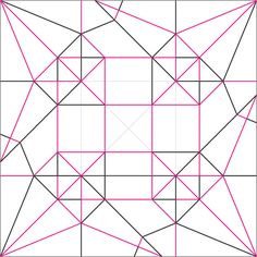 Inscrutable Cube Crease Pattern | Flickr - Photo Sharing!