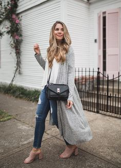 This Grey Maxi Cardigan has been the best transitional piece this season. And the best part? It comes with a $26 price tag. I always love to layer this time of year and today, I'm sharing how you can get this budget friendly spring outfit for under $125.  I was first introduced to Red Dress …