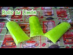BOLIS DE LIMON/LAS RECETAS DE LUPITA - YouTube Watermelon, Ice Cream, Treats, Fruit, Youtube, Desserts, Mexican, Cakes, Food