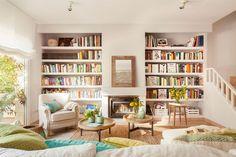 Bir evde kitap yoksa o evin ruhu da yoktur bana göre. Bunda hemfikiriz herhalde! Ama bir dekorasyon blogu olarak konuya başka açıdan...