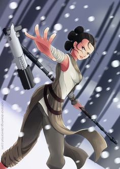 Rey by AdrianoL-Drawings.deviantart.com on @DeviantArt