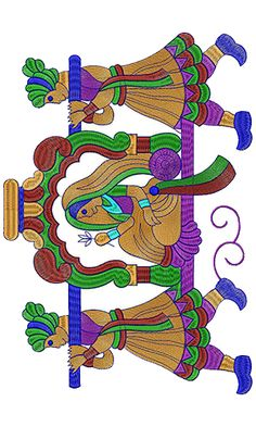9481 Wall ART Embroidery Design Saree Embroidery Design, Zardozi Embroidery, Border Embroidery Designs, Hand Work Embroidery, Beaded Embroidery, Embroidery Patterns, Machine Embroidery, Saree Painting Designs, Fabric Paint Designs