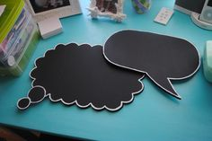 We sell these chalkboard signs in our Etsy shop