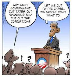 Obama on cutting taxes, spending, corruption
