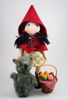 Little red ridding hood doll
