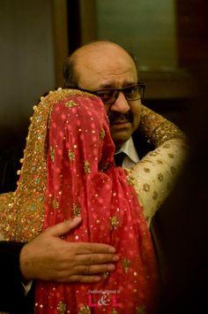 A sweet rukhsati moment! #wedding #bride #desi