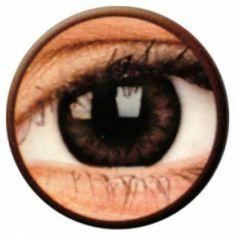 Lentile de contact colorate caprui Big Eyes Pretty Hazel - http://lensa.ro/lentile-contact-colorate/big-eyes/pretty-hazel