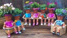 pot people garden gardening idea gardening ideas gardening decor gardening decorations gardenng tips gardening crafts gardeining on a budget cute garden