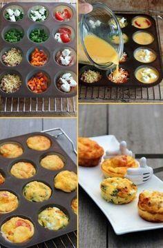 Вкусные, красивые, сытные завтраки в несколько приемов!