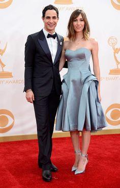 Zac Posen and Gia Coppola 65° Emmy Awards 2013