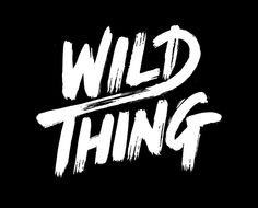 wild things Typography Inspiration #6