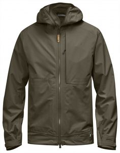 Lightweight, waterproof 2.5-layer shell jacket with excellent breathability for trekking in summer mountains and warm conditions. Designed for high functionality and low environmental impact in light, pliant Eco-Shell with the outer fabric in recycled pol
