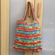 Jellina-Creations: grocery bag. Dutch pattern