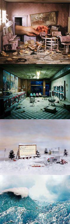 Lori Nix - diorama (staged photography)