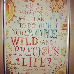 It's a rainy Monday here in Chicago, so we thought we'd share this sunny quote that sits outside our publisher's office.