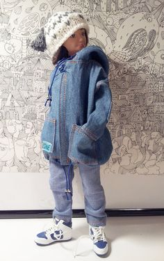 Lammily Doll Outfit / Jeans Parka Jacket And by LammilyOutfits