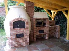 Kerti konyha patio falazókőből - kemence, sütögető, grillező, bográcsozó