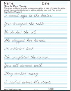 practice cursive writing short sentences worksheets for kids pinterest cursive cursive. Black Bedroom Furniture Sets. Home Design Ideas