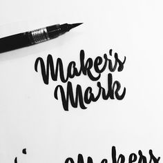 Brush Lettering Collection No. 2 by Neil Secretario, via Behance