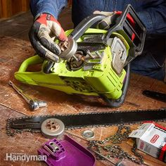 Keeping your chain saw's bar, chain and drive sprocket in tip-top shape involves more than regular chain sharpening and re-tensioning. Even with meticulous care, a chain saw's drive sprocket and bar eventually wear out and must be replaced.