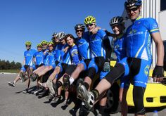 Having some fun, showing off the legs.   team.simcoecycling.ca