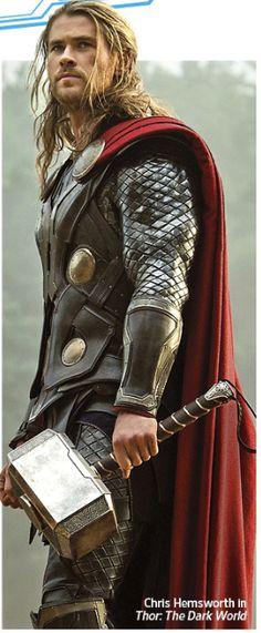 My boyfriend....Thor.  aka Chris Hemsworth. :-)