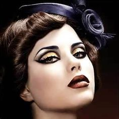 1950 s inspired make up