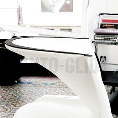 Filzgleiter Panton Chair panto glide in schwarz braun tagwerc für den vitra panton