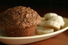 no sugar banana branners - muffins sweetened with dates not sugar