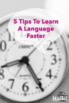 5 Tips To Learn A Language Faster - Do you want to learn a language but don't want to spend years studying? Or are you learning a language now and wish it didn't take so long (maybe to move on to your next target language)? Although speed isn't the most important thing when it comes to learning a language, it doesn't have to take three, four, five years or longer! #article #english