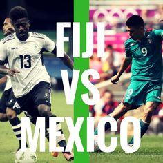 Fiji vs Mexico  #olympics #rio2016 Mexico Olympics, Olympic Football, Rio 2016, Fiji, Movies, Movie Posters, Films, Film Poster, Popcorn Posters