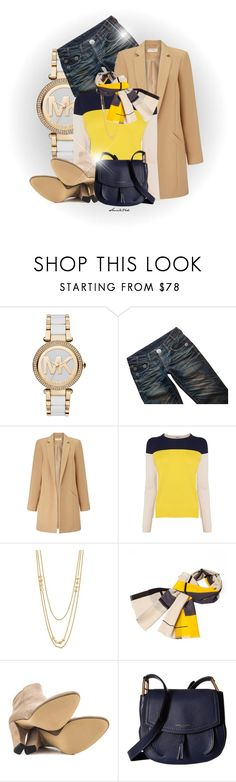 """Jeans and Sweater"" by smile24k ❤ liked on Polyvore featuring Michael Kors, Thomas Wylde, Miss Selfridge, Gorjana, Infinity, Ivanka Trump and Marc Jacobs"