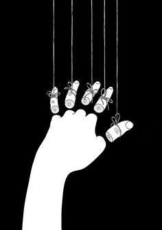 Sensible / Hands / Illustration / Black and White