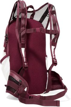 Adidas by Stella McCartney - Mesh-paneled Shell Backpack - White - one size
