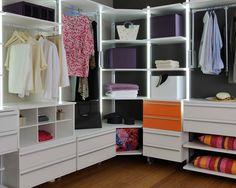 Begehbarer kleiderschrank ecklösung  ▷ Begehbarer Kleiderschrank – Planen, Schranksysteme und ...