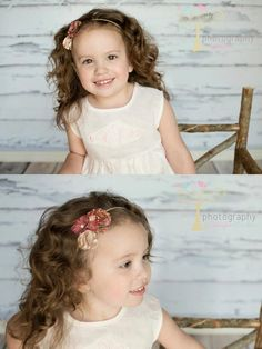 Fabric Flowers Headband  Photography by: Photography by Jennifer Lambson https://www.facebook.com/PhotographyByJenniferLambson