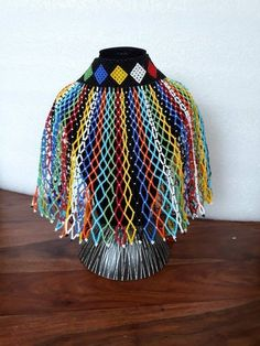 Zulu Traditional Attire, African Traditional Wear, Traditional Dresses, African Earrings, African Beads, African Jewelry, African Fashion Designers, African Fashion Dresses, African Clothes