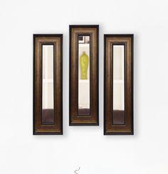Molly Dawn Bronze and Black Mirror Panels