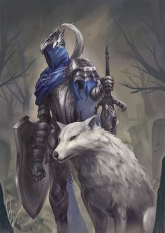 Dark Souls consist of great and touching story and of your funeral Sif Dark Souls, Dark Souls Artorias, Arte Dark Souls, Bloodborne, Soul Saga, Soul Tattoo, Dark Fantasy Art, Fantasy Armor, Bear Art