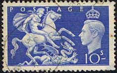 Great Britain 1951 King George VI Fine Used SG 511 Scott 288 Other British Commonwealth Stamps HERE!