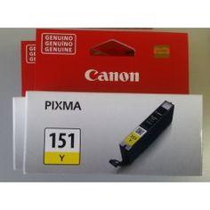 TINTA CANON CLI-151 Y 6480B001AA AMARILLO