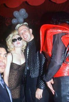 Madonna and Jean Paul Gaultier in Paris 1990