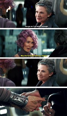 Star Wars: The Last Jedi I loved these two! No other Star Wars movie has give us two women who were friends. I loved seeing this side of Leia. Some Things Never Change, Han And Leia, The Phantom Menace, The Force Is Strong, Movie Couples, The Empire Strikes Back, Carrie Fisher, Last Jedi, Love Stars