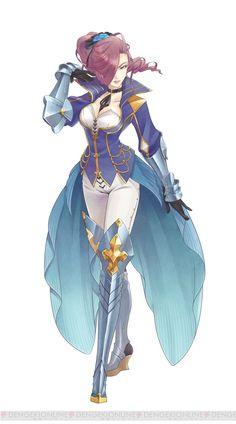 Jeu vidéo : Tales of Zestilia / female knight · maltran   / http://dengekionline.com/elem/000/000/889/889449/