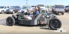 Automakers small and large are using 3D printers to create custom cars and prototype parts. This drivable car was 3D printed in 44 hours