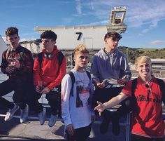 Jack,Mikey , Brook , Rye and Andy aka RoadTrip Road Pictures, Cute Pictures, Roadtrip Boyband, Brooklyn Wyatt, Cover Band, Gay Couple, The Duff, Good Looking Men, Music Artists