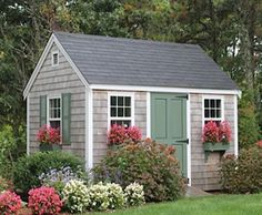 8'x12' Quivett Cape | Small Buildings, Sheds, Cabanas, Porch Systems and Pool Houses from Walpole Woodworkers