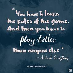 #WiseWords from Albert Einstein