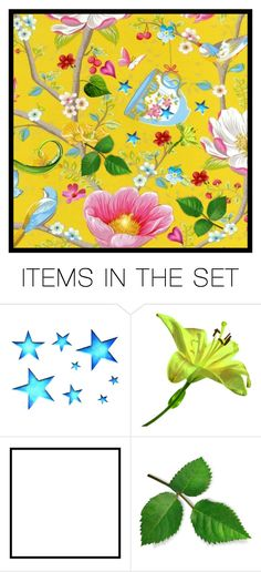 """""""a little bit spring"""" by groen ❤ liked on Polyvore featuring art"""